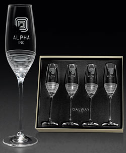 Awardcraft-Wine Flutes
